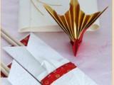 お正月用お箸袋&箸置き作り( 過去のラッピング講座)