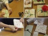 気軽なプレゼントに使えるパッケージ作り( 過去のラッピング講座)